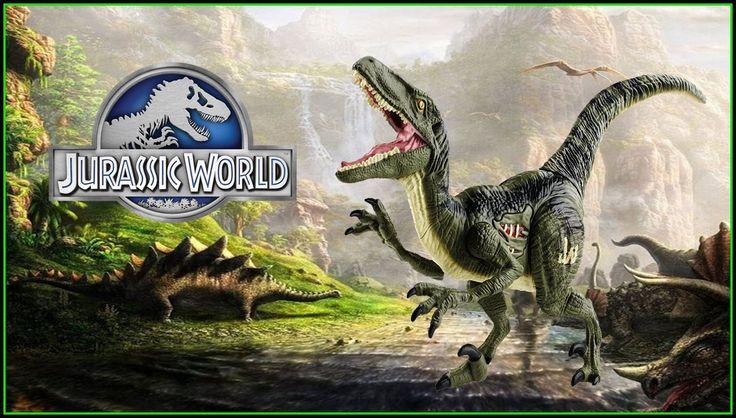 Jurassic world Velociraptor Blue