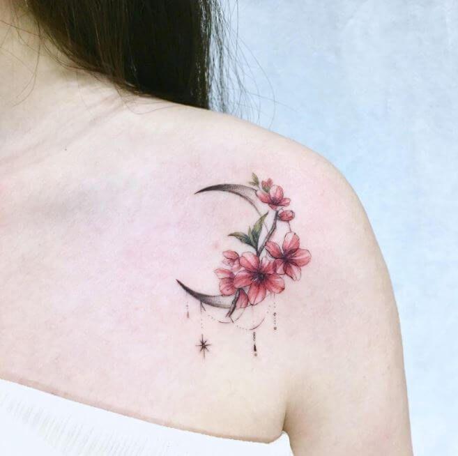 Neutattodesigns Com Shoulder Tattoos For Women Back Of Shoulder Tattoo Cherry Tattoos