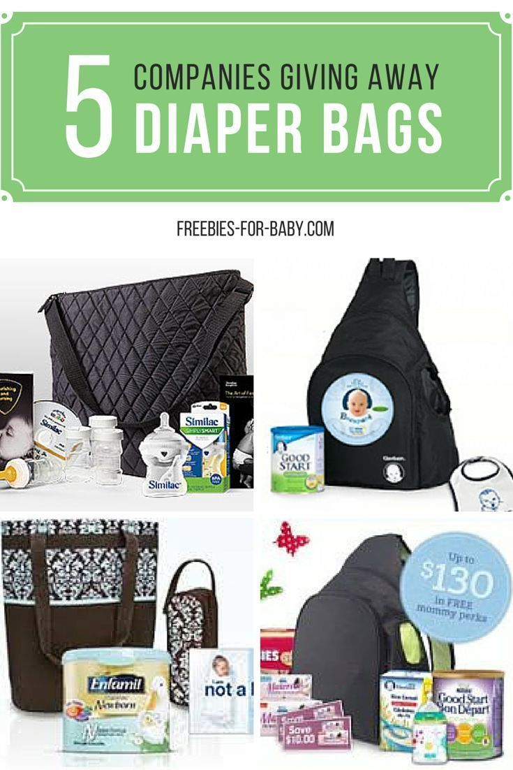 5 FREE Diaper Bags filled with FREE Baby Stuff!Cathy   Freebies-For-Baby.com