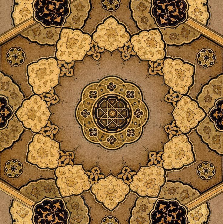 Zahriye çalışmam detay. #islamicart #tezhip #tazhip #tezhipsanati #geometric #hatsanati #hattat #art