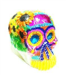 Picture of Calaveras de Azucar - Sugar Candy Skulls Dia de Muertos - Extra Large- Item No.10069-giant