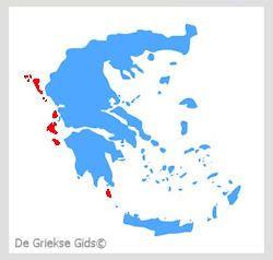 Griekse Eilanden | Interactieve kaart met alle Griekse eilanden
