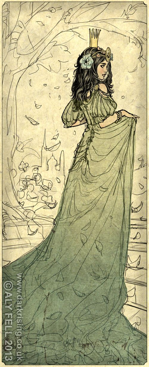 Lots of girls probably wanted to be Dorothy when they were little...but how many wanted it so they could be Ozma's best friend? *g* By AlyFell on deviantART.