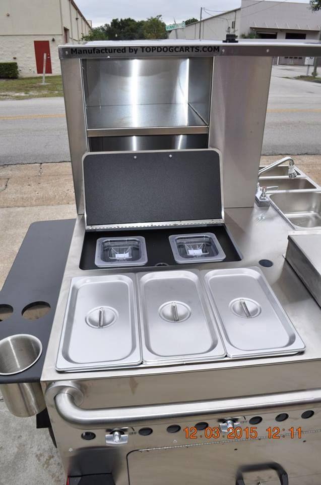 mobile food carts topdogcarts hot dog street style carts pinterest. Black Bedroom Furniture Sets. Home Design Ideas