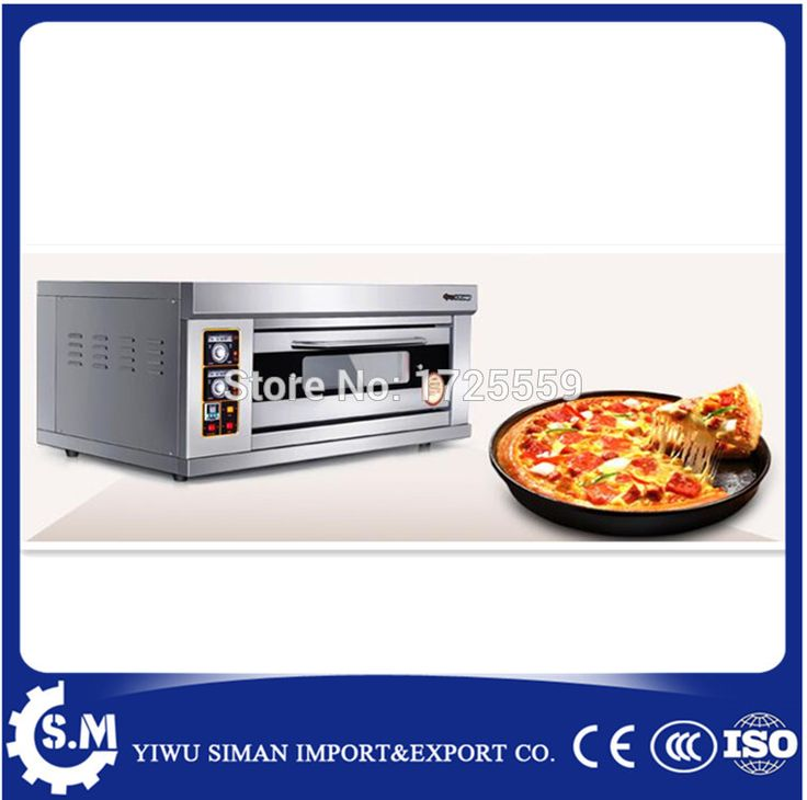stainless steel single electric pizza oven homeuse cake bread oven