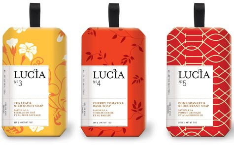 Inspired patterns from ingredients from Lucia