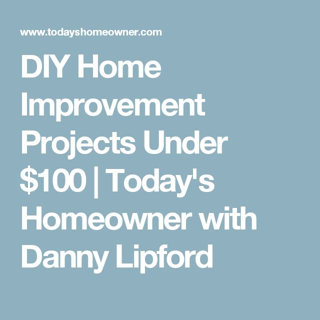 Benefits diy home improvement projects