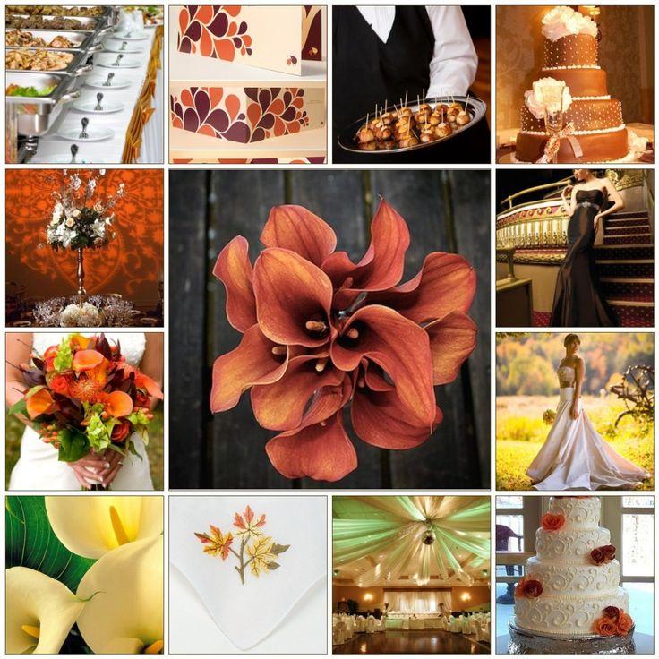 Good Fall Wedding | Cheap Fall Wedding Ideas: Autumn Wedding Decor On A Budget
