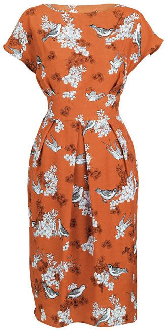 http://www.littlewoods.com/south-printed-obi-belted-dress/ #fallintofashion14  #mccallpatterncompany