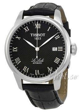 Tissot T-Classic Le Locle Musta/Nahka kello T41.1.423.53. Materiaalit & Mitat Malli:T41.1.423.53 Sarja:T-Classic Le Locle Tyyppi:Mies