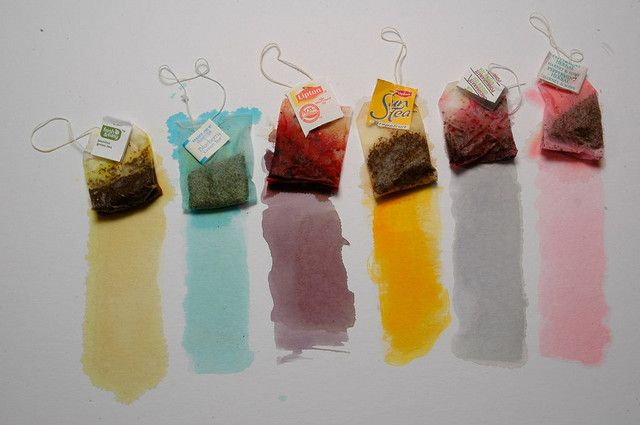Paint with tea
