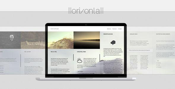 Horizontall - Creative WordPress