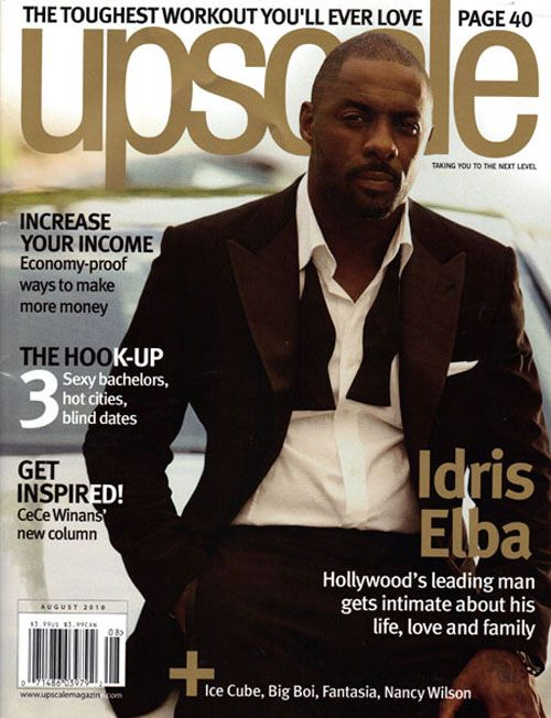 Idris Elba Upscale Magazine