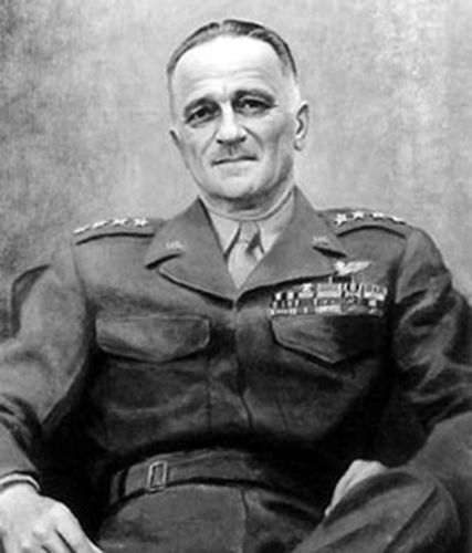 """08 Dec 43: Lieutenant General Carl Spaatz becomes the chief of US strategic Air Forces in Europe. After the war, Eisenhower will say that Spaatz (pronounced """"Spots""""), along with General Omar Bradley, was one of the two American general officers who had contributed the most to the victory in Europe. #WWII"""