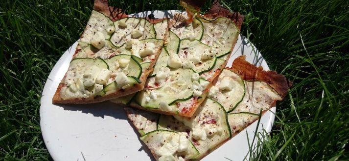 Pizza wegeteriańska - Jest Pięknie