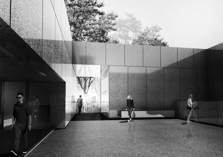 concept of the Memorial Room | UGO Architecture
