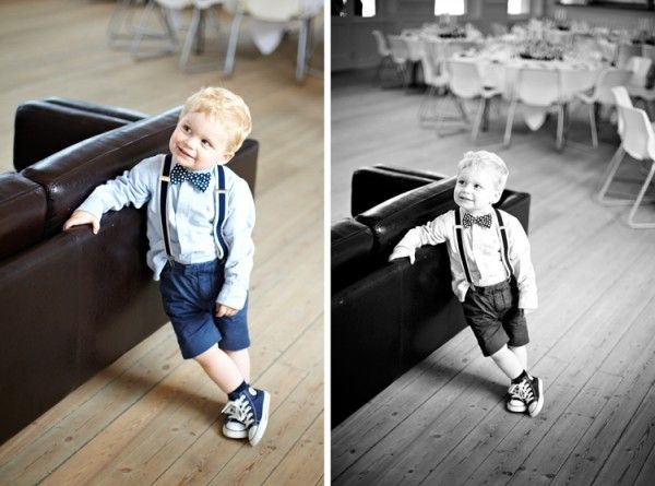 love the bowtie, suspenders and the chucks....what a cute ringbearer outfit!