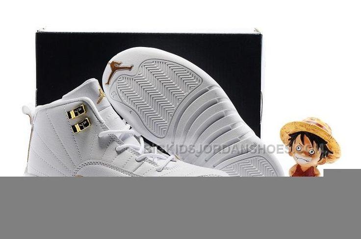 http://www.bigkidsjordanshoes.com/kids-air-jordan-12-all-white-gold.html Only$52.00 KIDS AIR #JORDAN 12 ALL WHITE GOLD #Free #Shipping!
