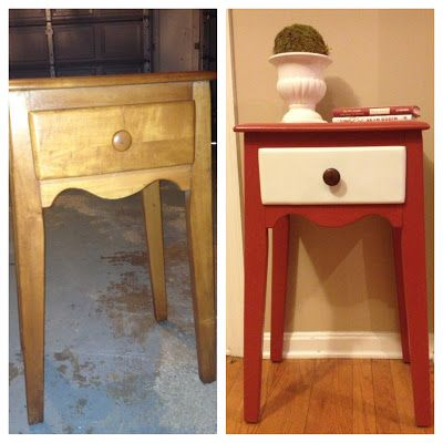 small entryway furniture. diy chalk paint nightstand to entry table makeover small entryway furniture
