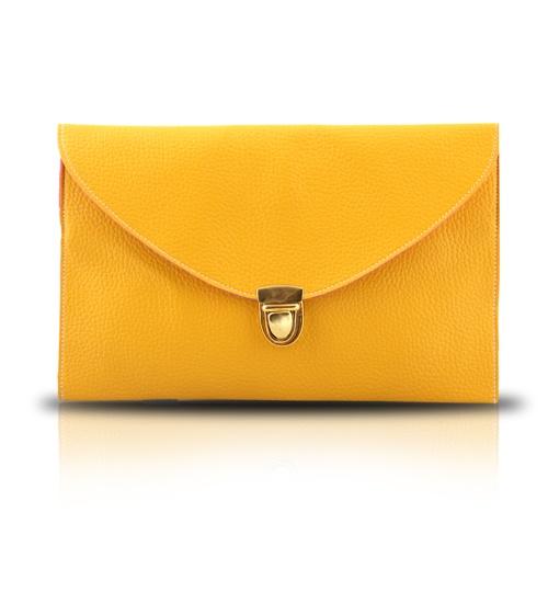 GOTG Yellow Clutch on glamouronthego.co.uk