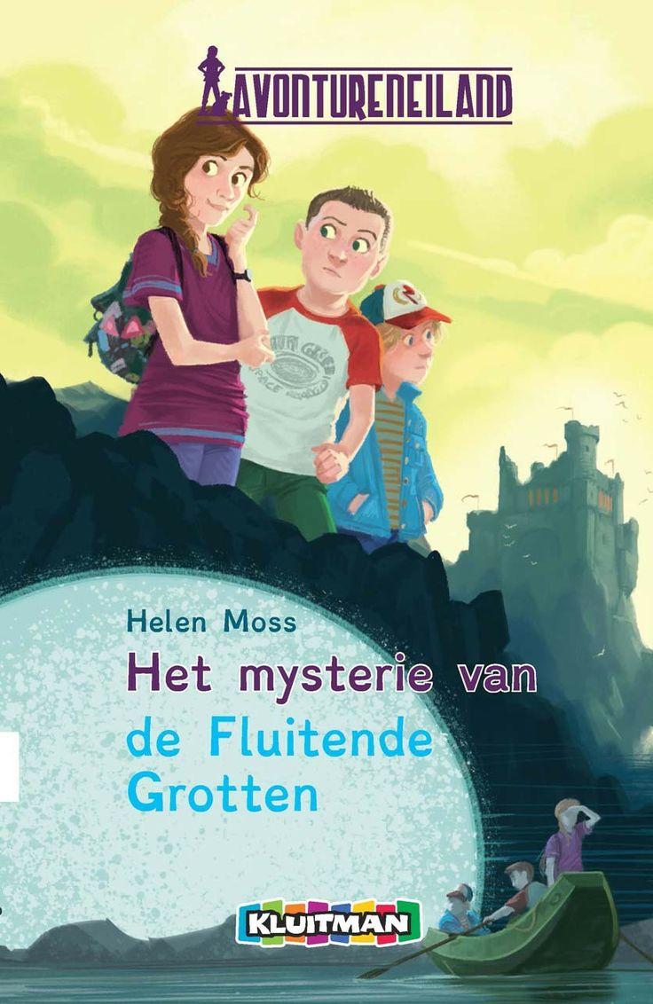 Avontureneiland Het mysterie van de fluitende grotten - kinderboek in het Lettertype Dyslexie