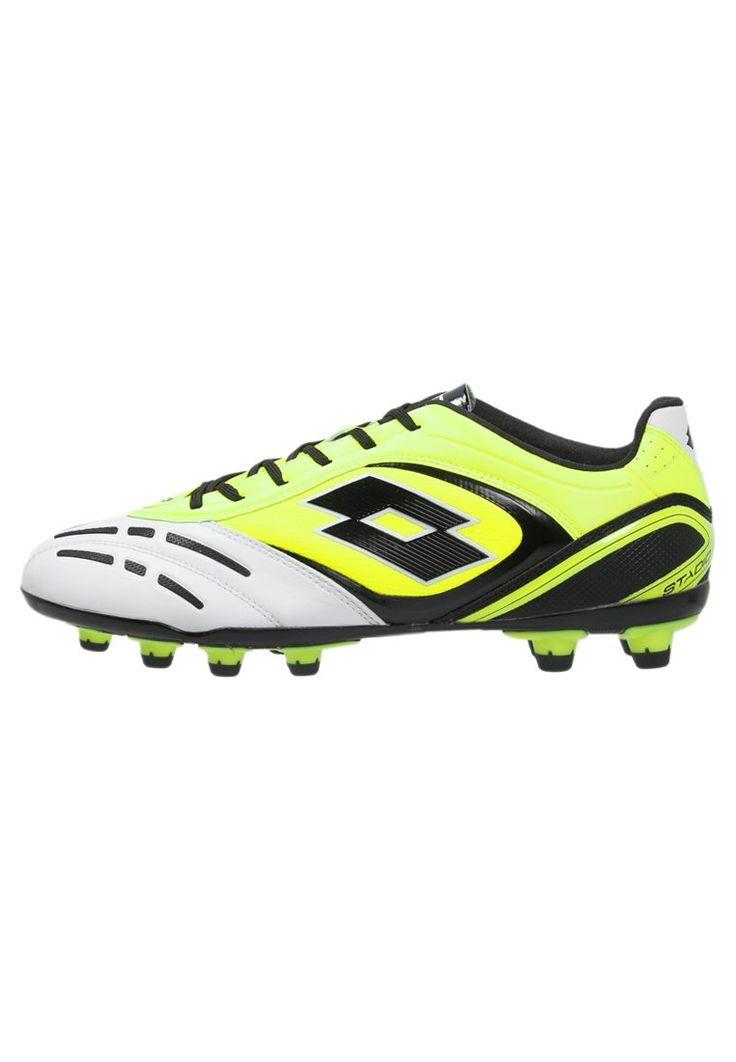Lotto STADIO POTENZA VI FG Korki Lanki yellow saffron/white 351.75zł #sport #men #mężczyzna #lotto #stadio #potenza #vi #fg #korki #lanki #yellow #saffron #white #biały #żółty #zielony #czarny #męskie #obuwie #sportowe #piłka #nożna #football #black