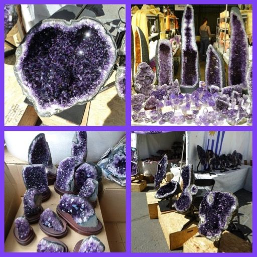 Here is a photo pictorial of the Denver Gem and Mineral show for 2014. It is the 2nd largest Gem Show in the USA.