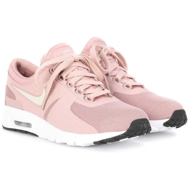5f37806ecb Nike Air Max Zero Sneakers ($110) ❤ liked on Polyvore featuring shoes,  sneakers, pink, nike, nike sneakers, pink sneakers, pink shoes and nike  trainers