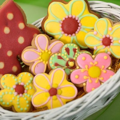 Gingerbread Springtime Cookies Recipe