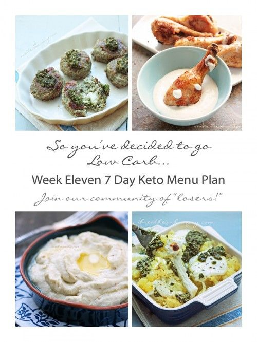 Week Eleven 7 Day Keto Menu Plan | a free low carb weekly menu plan from ibreatheimhungry.com