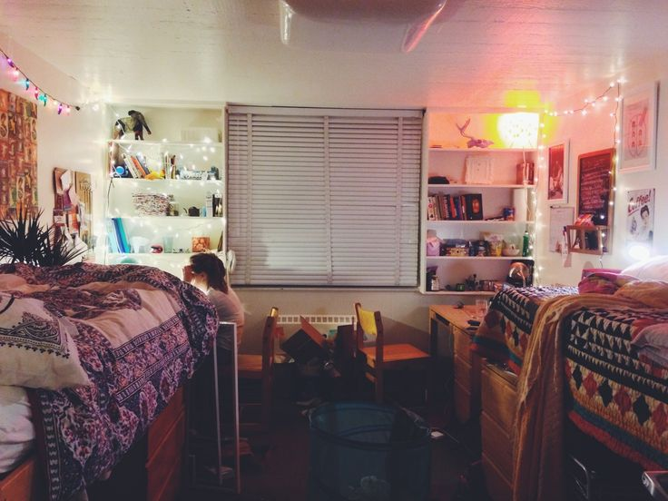 Freshman dorm at Stanford University(submitted by  ~ 131045_Earthy Dorm Room Ideas