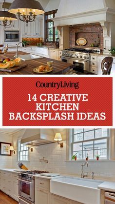 18 creative kitchen backsplash ideas - Tijdelijke Backsplash