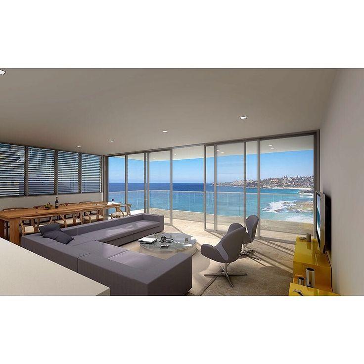 Tama House Tamarama Sydney 2008  Ian Moore Architects #ianmoorearchitects #tamahouse #tamarama #bonditobronte #louvres #sydney #sydneyarchitecture #interiors #renderorphoto #render by ianmoorearchitects http://ift.tt/1KBxVYg