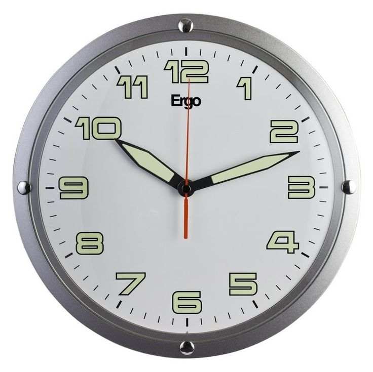 Shop Ergo 12 Grey Wall Clock at Lowe's Canada. Find our selection of wall clocks at the lowest price guaranteed with price match + 10% off.