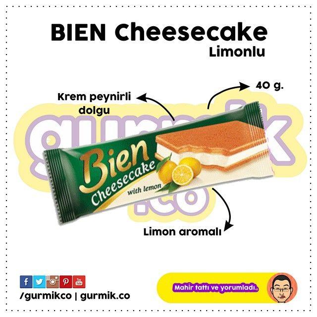 """Şimşek'ten """" #Cheesecake demeye bin şahit ister"""" dedirten kek: #Bien Cheesecake… Kremasından peynir tadı alınmadığı gibi ambalajında kullanılan görselle hiç uyuşmuyor. Tadı beklediğim gibi çıkmadı...."""