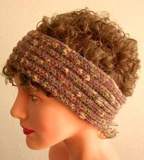 Soft Toy Knitting Patterns : Ear warmers, Meringue and Knit headband pattern on Pinterest