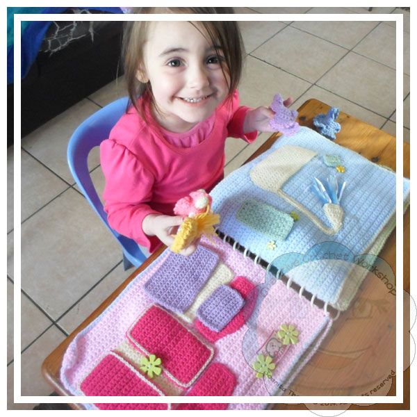 Creative Crochet Workshop: My Crochet Dollhouse Playbook CAL Introduction