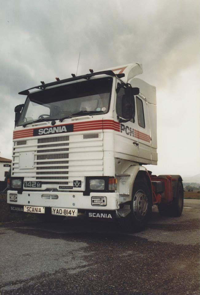 Perugia, Italy. 1988. Scania 142