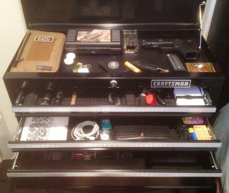EDC Toolbox locker