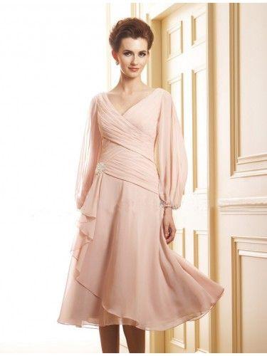 Tea Length Mother of the Bride Dresses