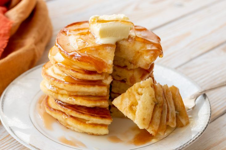 The Best Fluffy Buttermilk Pancakes You Ll Ever Try Pancakes Are The Quintessential Weekend Breakfast A Buttermilk Pancakes Fluffy Buttermilk Pancakes Recipes