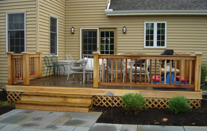 25 best images about decks on Pinterest on Back Deck Designs For Houses id=63754