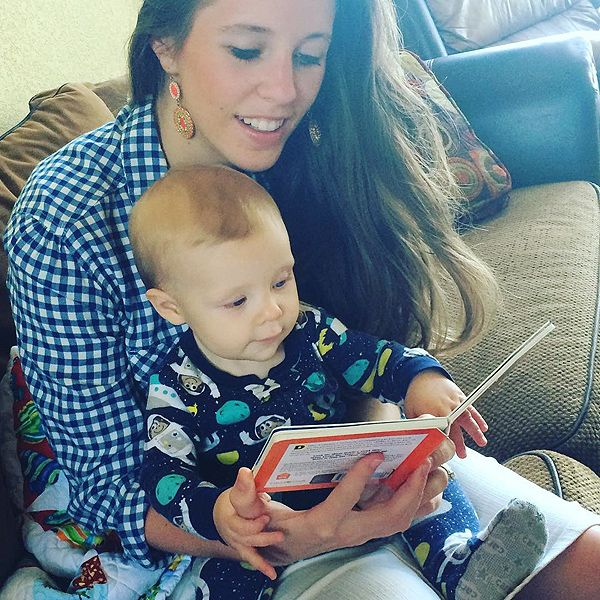 Jill (Duggar) Dillard Reads Baby Israel a Story After Announcing Return to Reality TV http://www.people.com/article/jill-duggar-dillard-reads-baby-israel-instagram