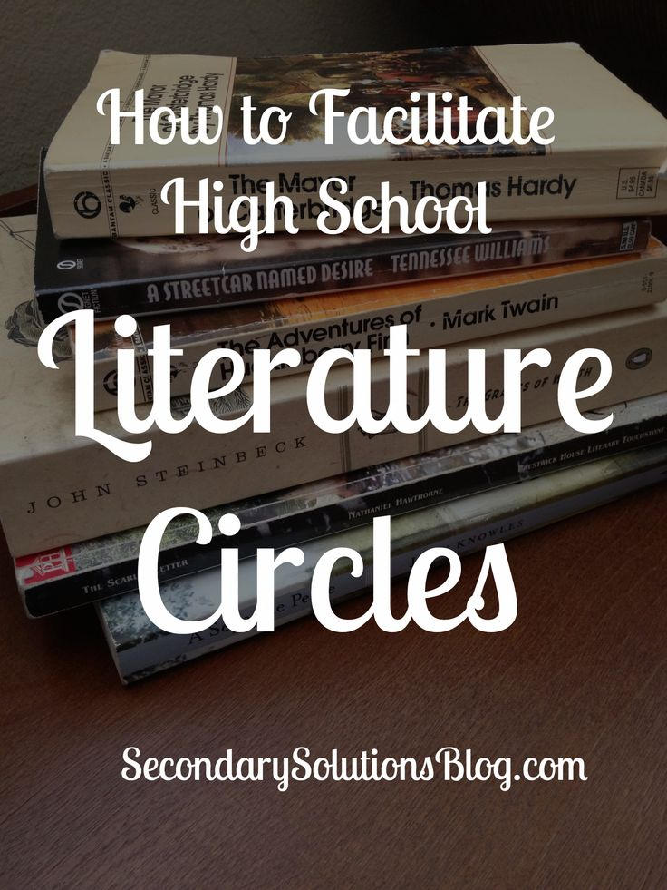 High School Literature Circles
