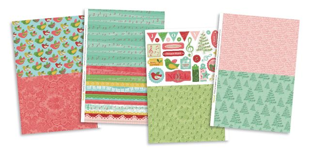 FREE Christmas Songbird papers to download from issue 93! | Papercraft Inspirations