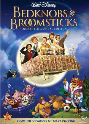 Bedknobs and Broomsticks....LOVE this movie....watched it over and over as a kid =] reminds me of staying the night at my grandmas =]