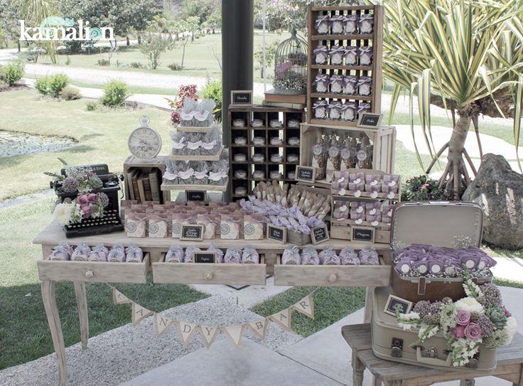 Articulos De Decoracion Vintage ~ Wedding, Mesas Bautizos, Sweet, Sweet Tables, Candy Bar Wedding, Mesa