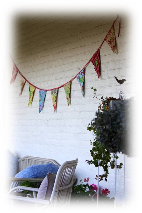 Welcoming Bunting for any room  - visit www.hopewares.com.au