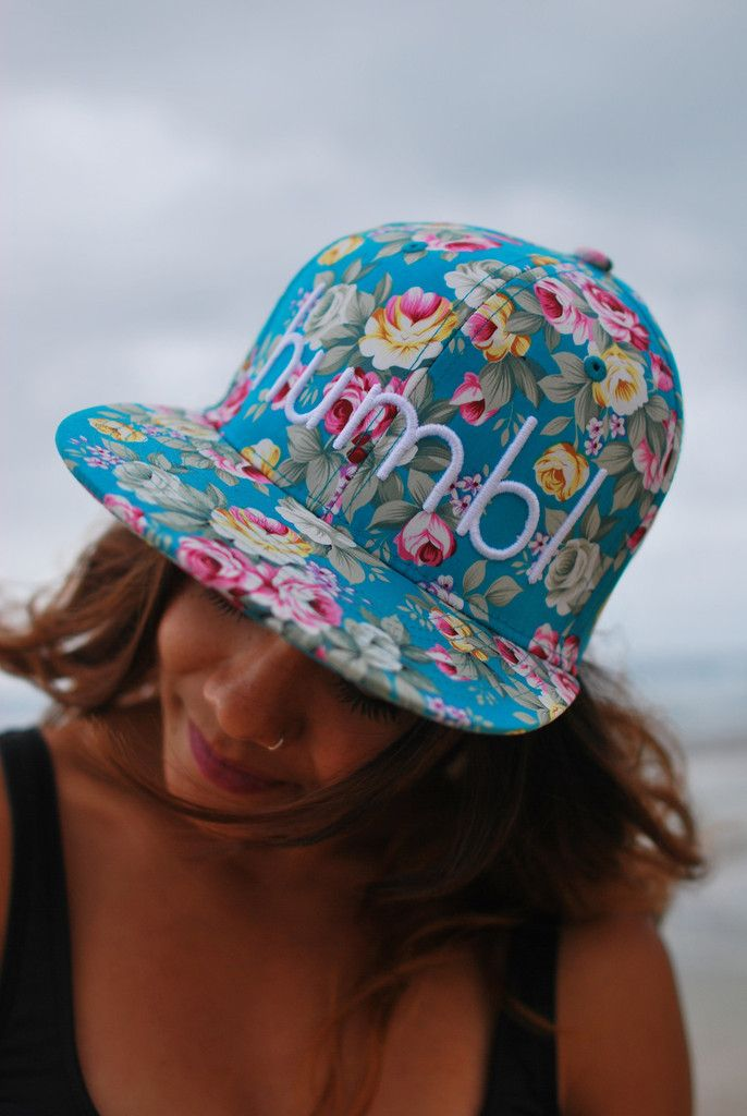 The Floral Limited  $34.00  Check out and buy this hat and other humbl collections here http://humblhawaii.com/