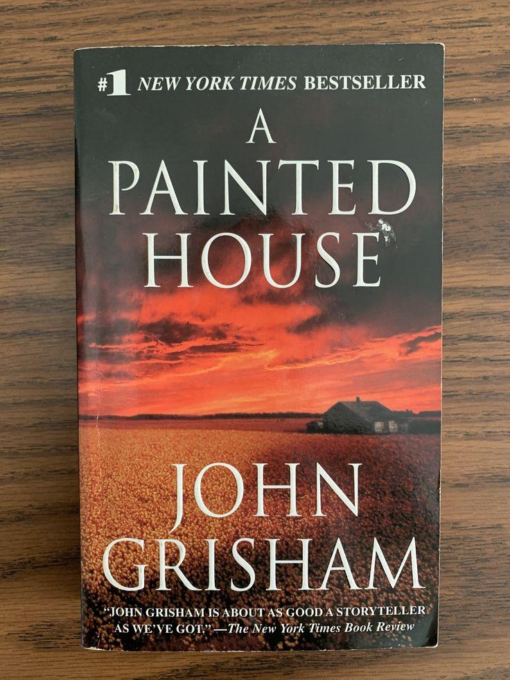 A painted house john grisham paperback in 2020 john